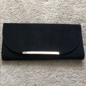 Black Sparkle Clutch/crossbag